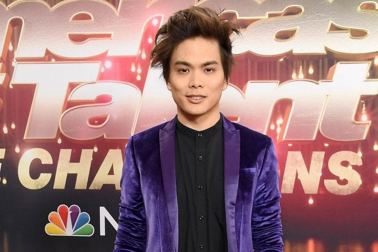 Image result for americas got talent shin lim