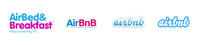 Image result for Airbnb first logo