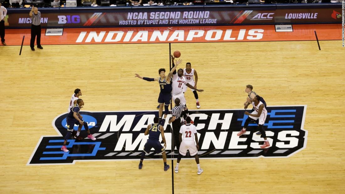NCAA planning to host the entire men's March Madness in Indianapolis - CNN