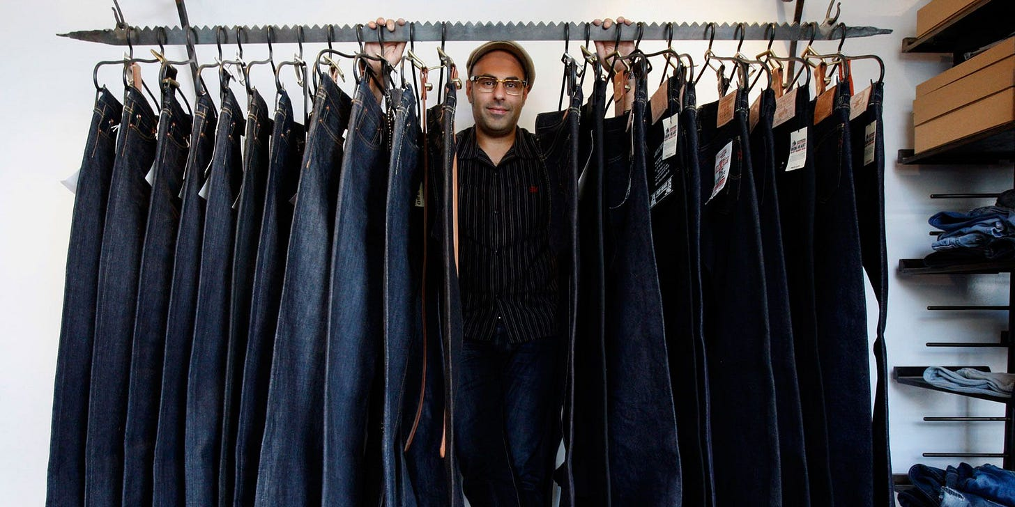 Buying (and Caring for) Raw Jeans Is Easier Than You Think - Kiya Babzani  Self Edge Mexico