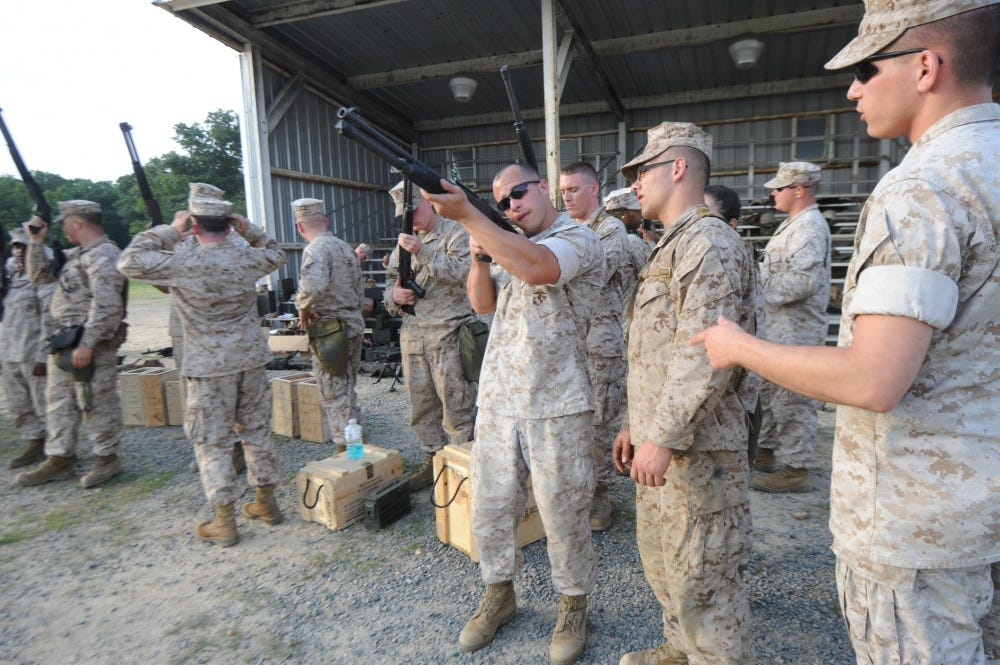 Marines train for the skills that kill