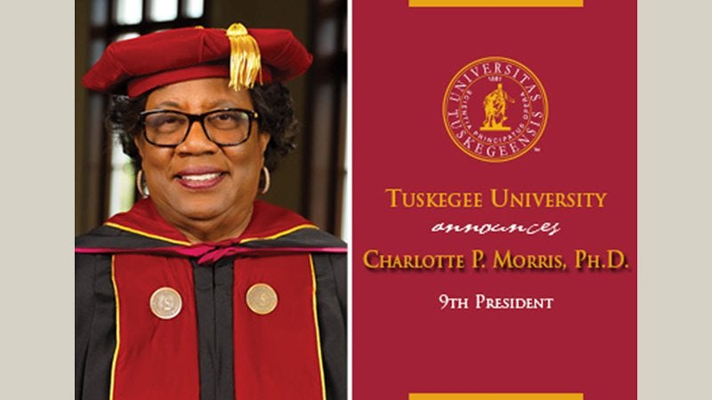 Dr. Charlotte P. Morris Elected 9th President of Tuskegee University | UNCF