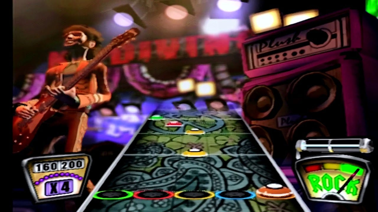 Guitar Hero 1 Take Me Out Expert 100% FC (320608) - YouTube