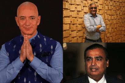 Why are Bezos' Amazon, Ambani's Reliance at war for Future Retail — Quartz  India