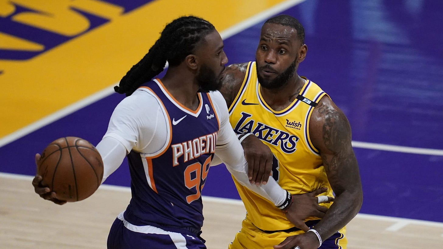 Lakers eliminated from playoffs in 113-100 loss to Suns, ending bid for  championship repeat   KTLA