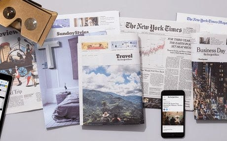 Digital Access to the NYTimes