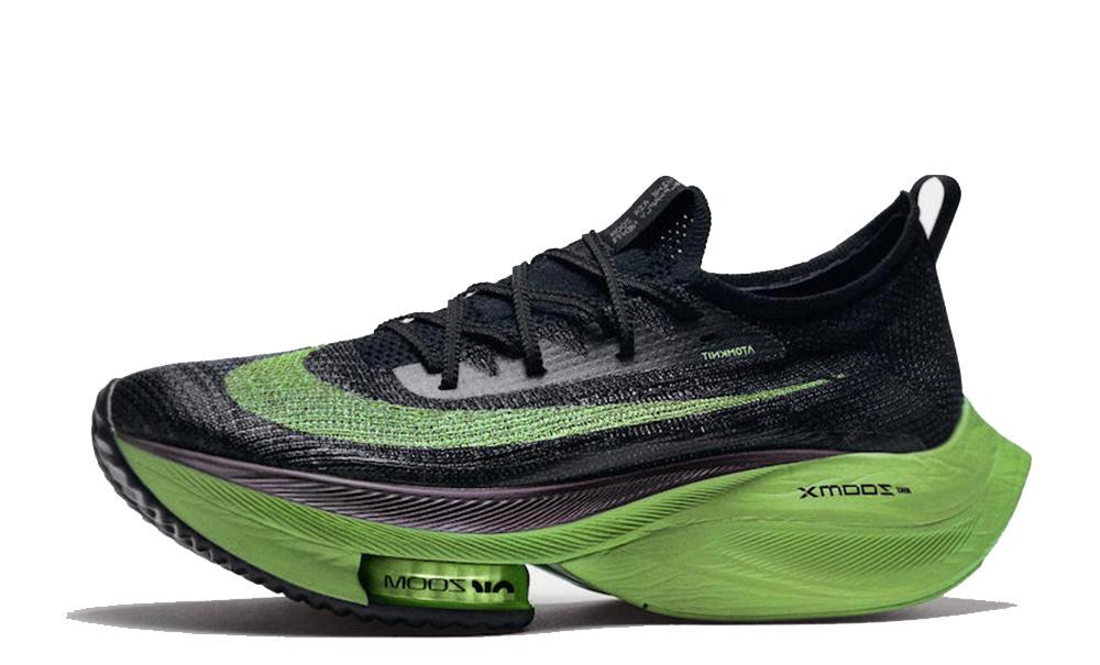 Nike Air Zoom Alphafly NEXT% Black Volt - Where To Buy - CI9925 ...
