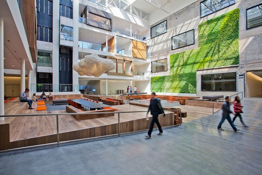 Inside Airbnb's Beautiful San Francisco Headquarters - Officelovin'