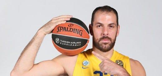 Aleks Maric of Maccabi Tel-Avi - Courtesy Euroleague