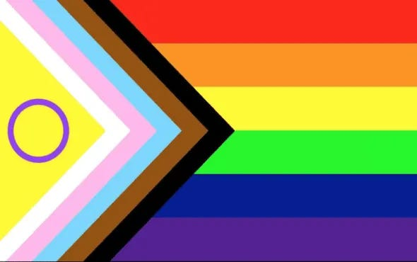 New Pride Flag was recently unveiled incorporating intersexuality (Intersex Equality Rights UK)