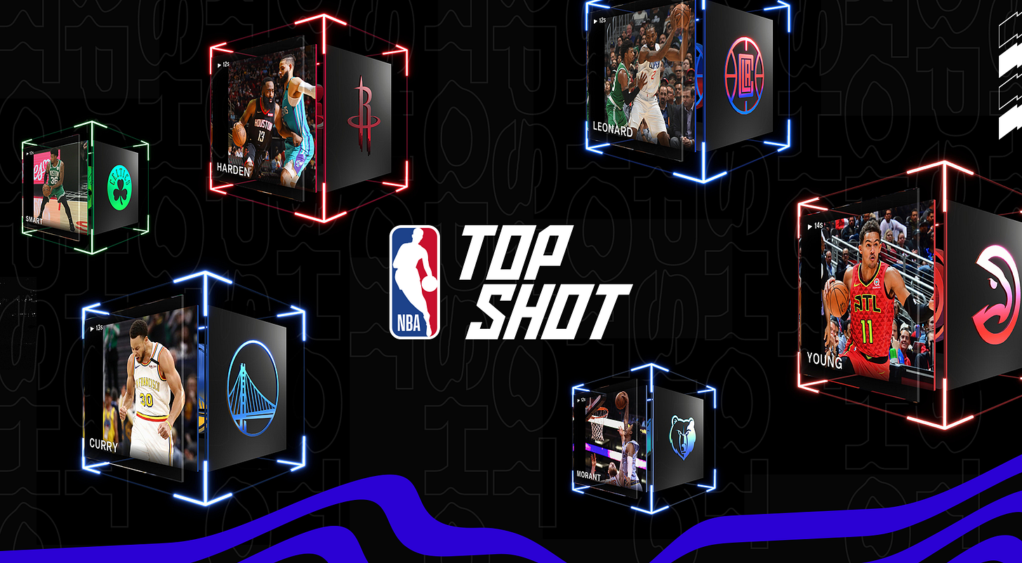 The Company Behind the NBA's NFT Trading Cards Is Now Valued at $2.6  Billion | by Fast Company | Fast Company | Mar, 2021 | Medium