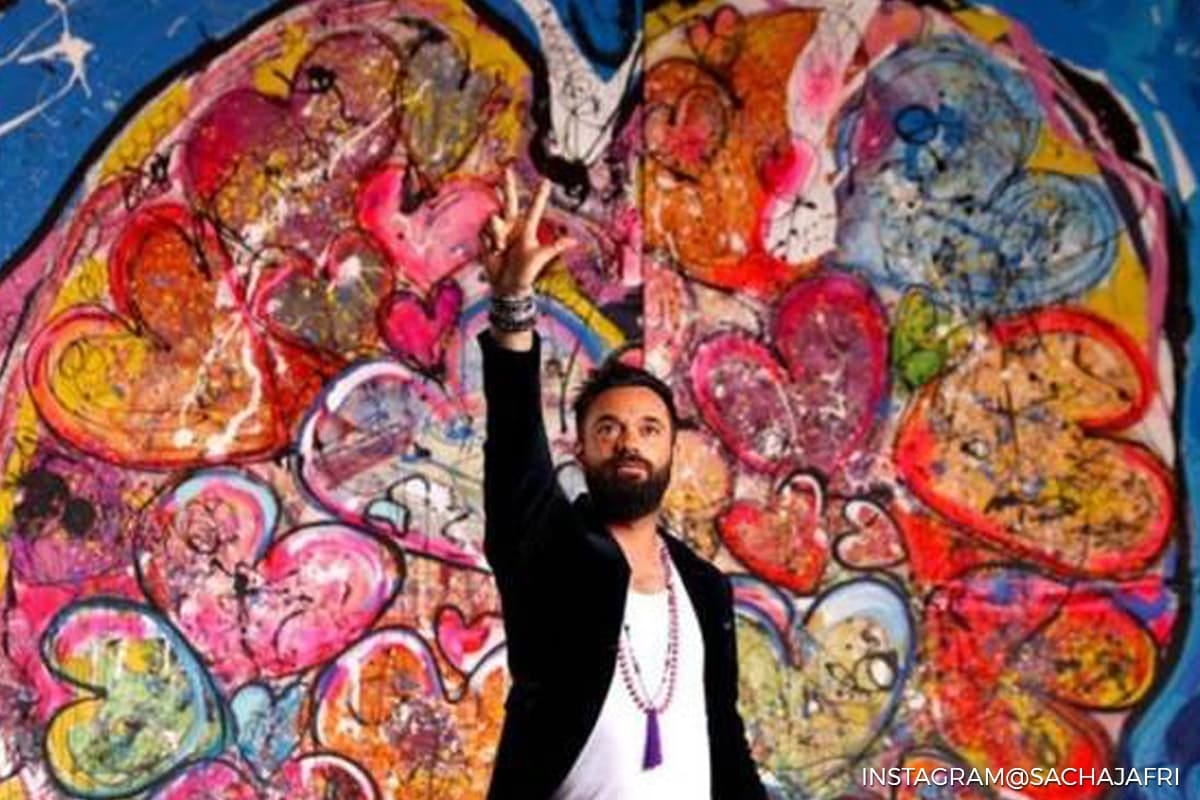 Artwork from world's largest canvas painting sells for US$62m in Dubai