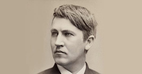 Thomas Edison, Power-Napper: The Great Inventor on Sleep and Success –  Brain Pickings