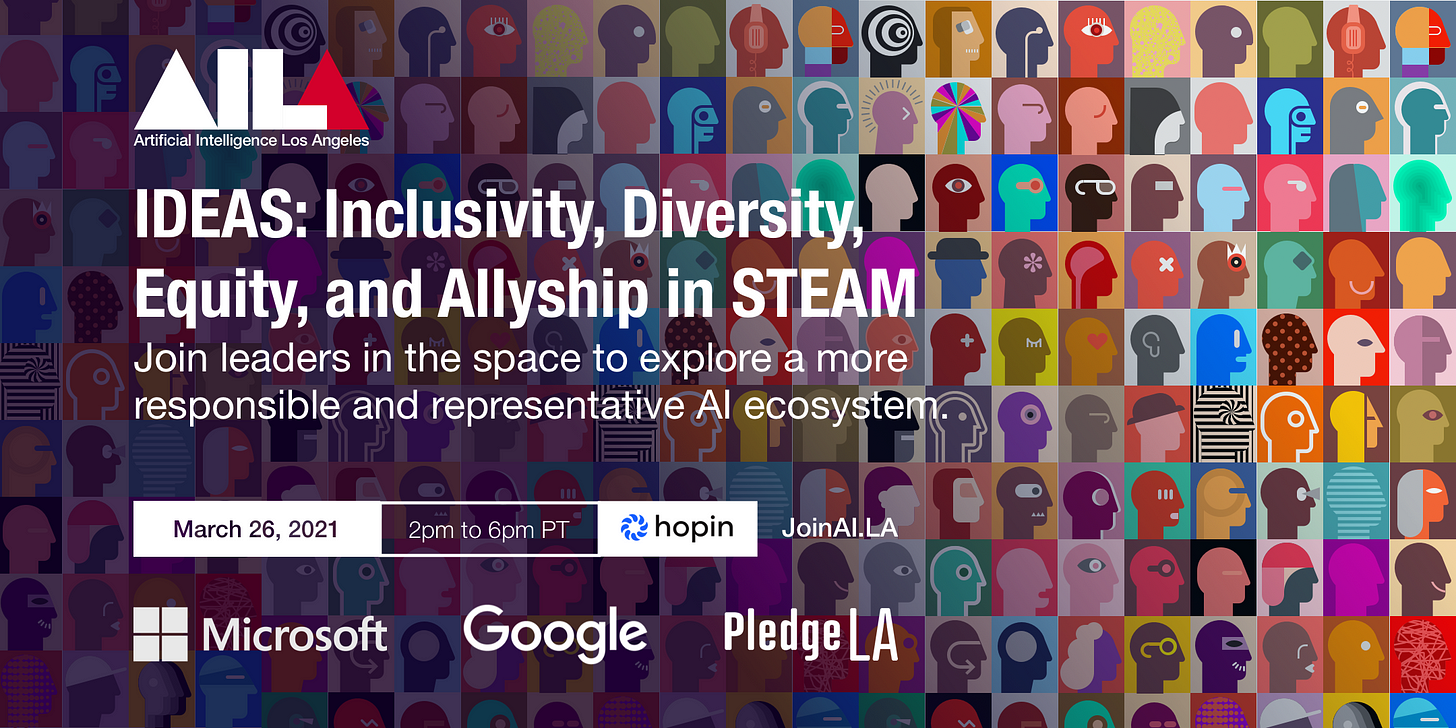 inclusivity, diversity, equity, and allyship in steam