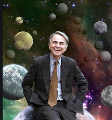 Carl Sagan, Visionary and Resident Space Explorer