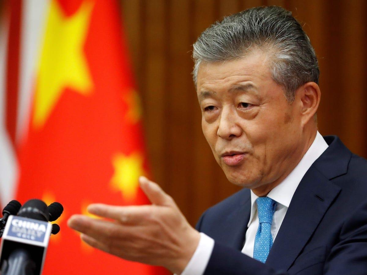 Chinese ambassador: UK ban on Huawei would damage trust   Huawei   The  Guardian