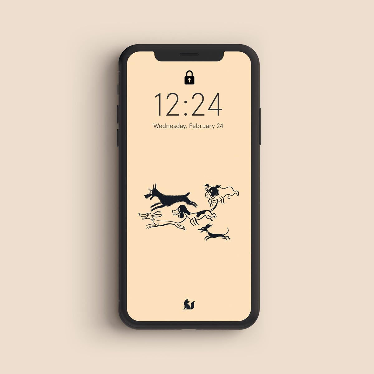 Les Petits Chiens –Wednesday Wallpapers – The Fox Is Black