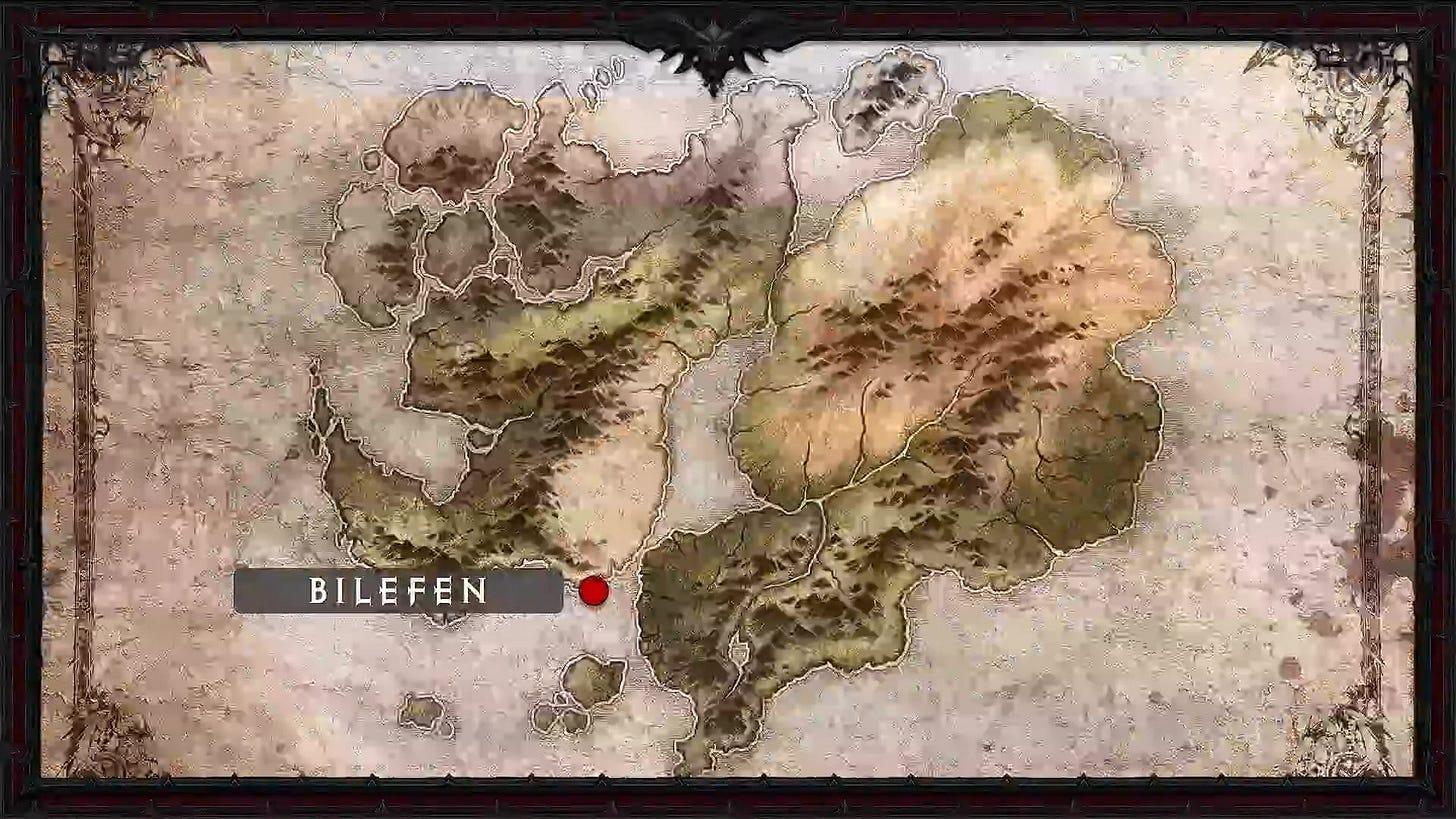bilefen map