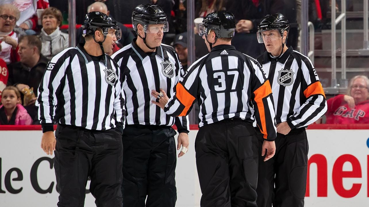 These Guys Rule: Sorting Hockey's Referees and Linesmen
