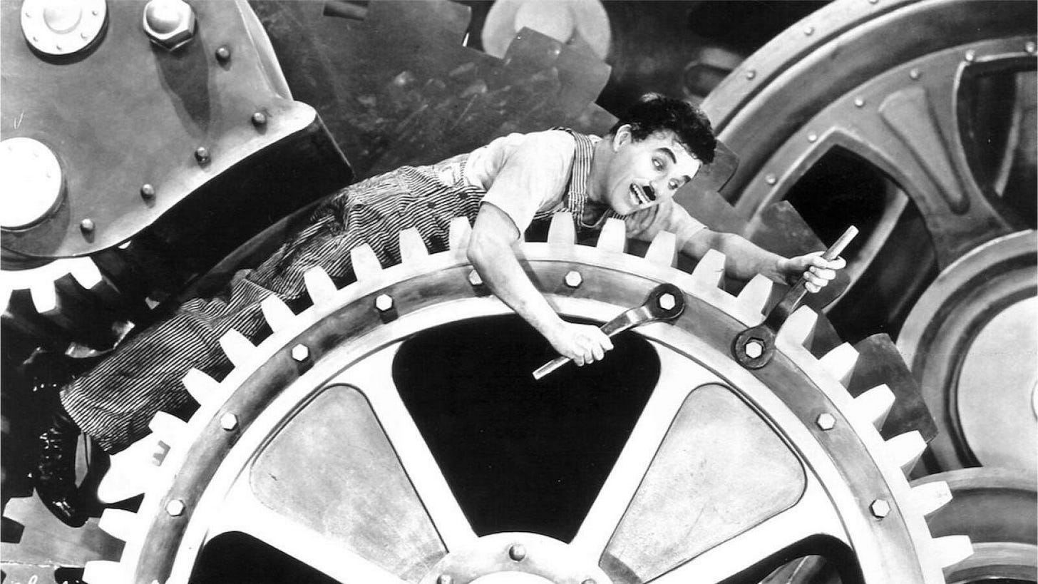 Photo des Temps modernes de Chaplin