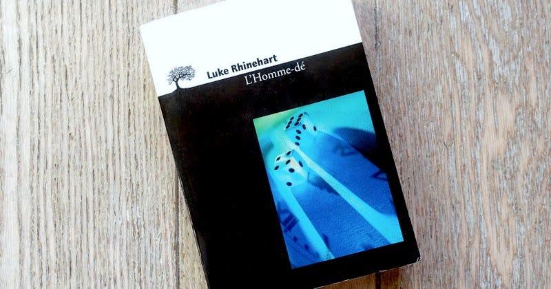Lundi Librairie : L'Homme-dé - Luke Rhinehart - Paris la douce, magazine  parisien lifestyle, culture, sorties, street art