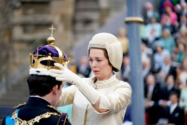 "Olivia Colman in Season 3 of ""The Crown"" on Netflix, debuting in November."
