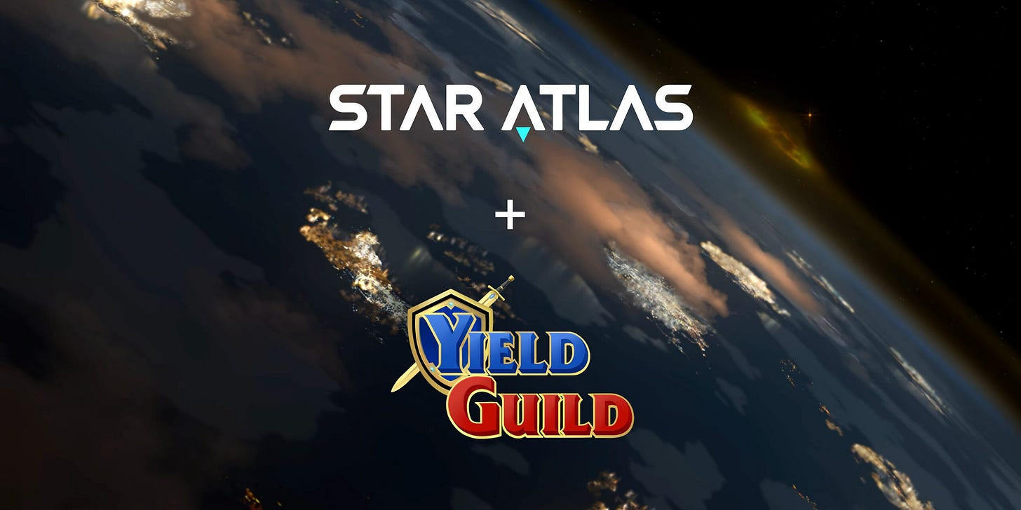 Star Atlas Partners With Yield Guild Games to Reward Gamers - NFT News Today