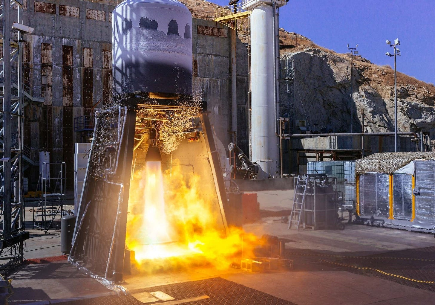 ABL Space Systems performs integrated stage test of the RS1 launch vehicle