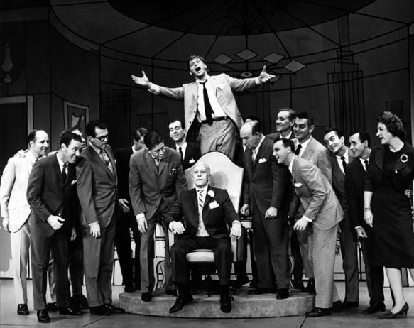 Robert Morse in How to Suceed In Bussiness Without Really Trying   Musical  theatre broadway, Theater performance, It cast
