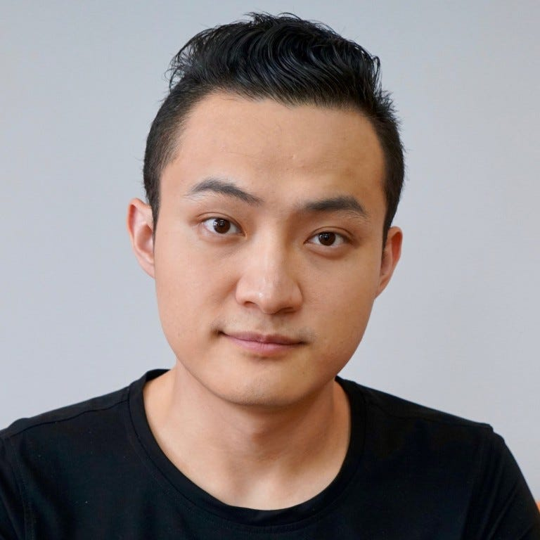 Image result for justin sun