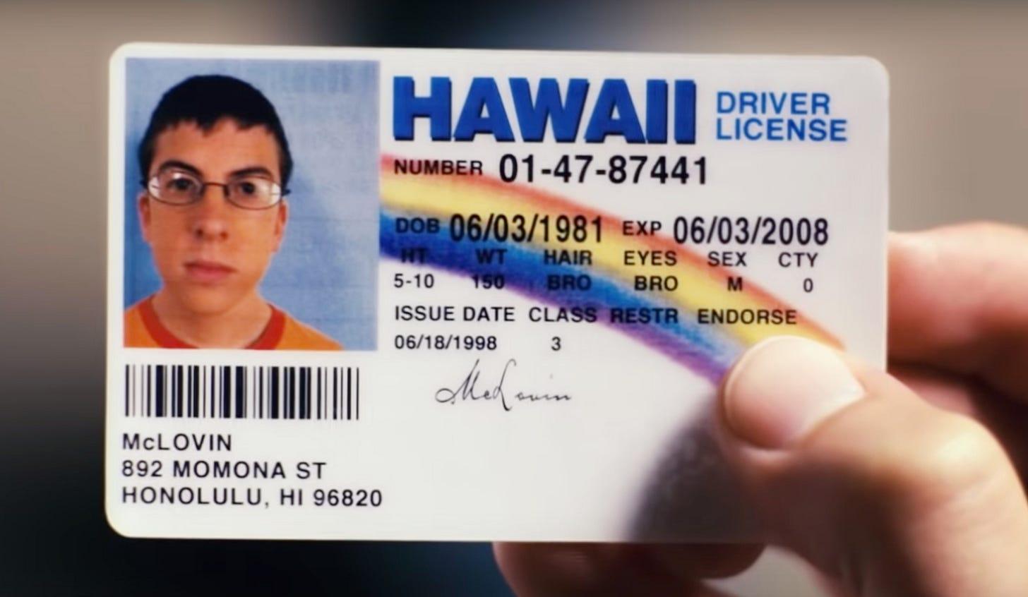 Man, 20, arrested at Iowa bar with fake 'McLovin' ID from movie -  syracuse.com