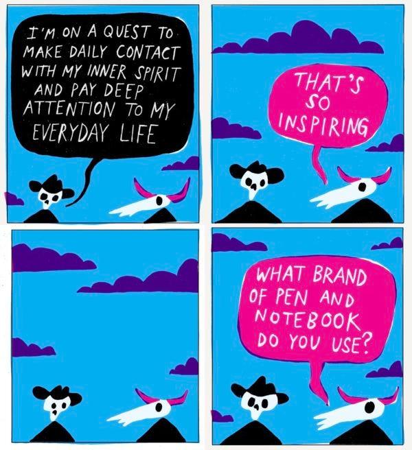 Comic by Austin Kleon