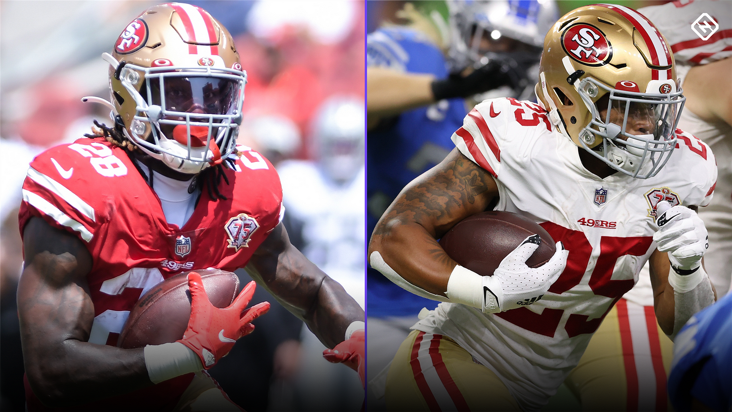 What Raheem Mostert's knee injury means for 49ers, Trey Sermon, Elijah  Mitchell & fantasy football owners   Sporting News