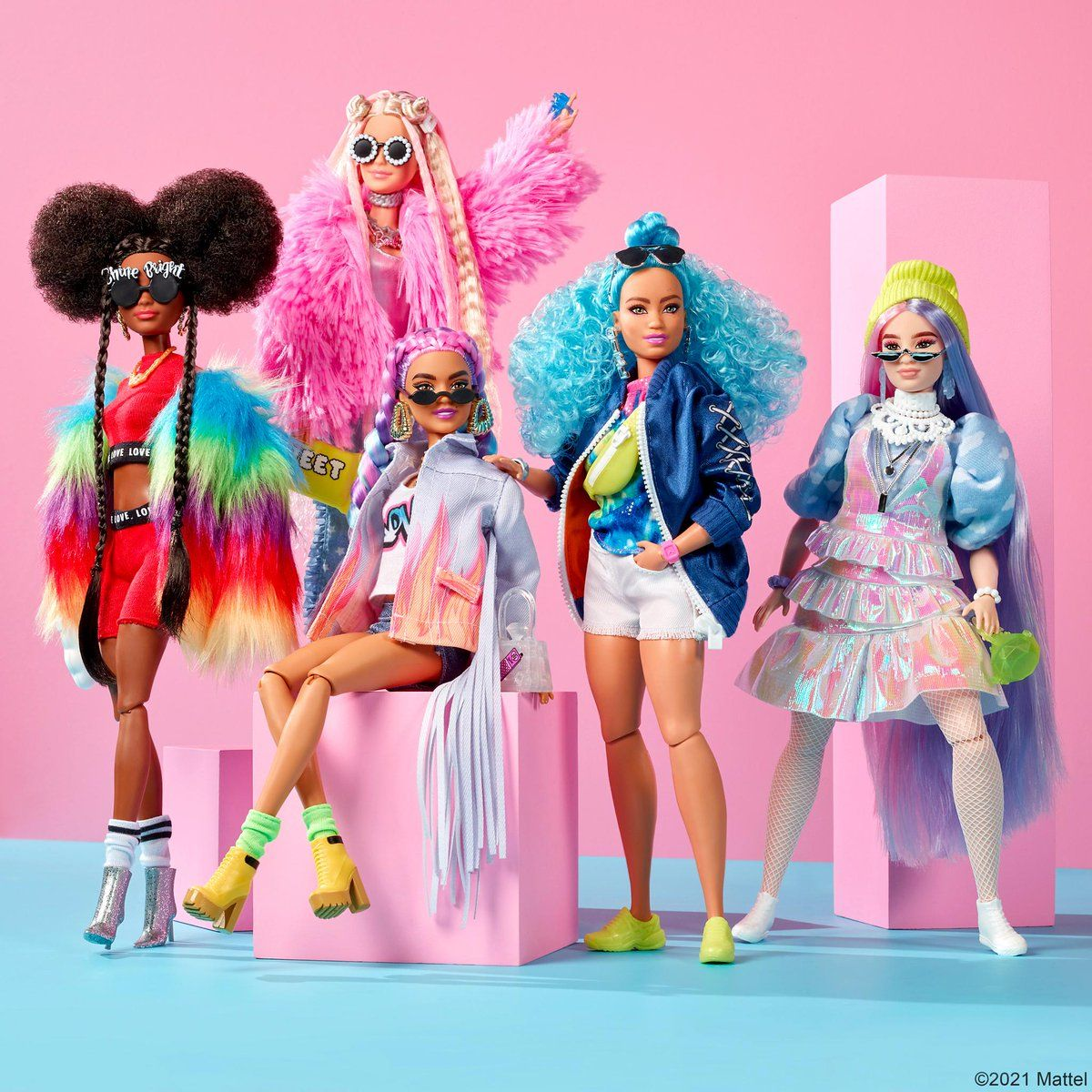 "Barbie on Twitter: ""Born to be bold. #BarbieEXTRA https://t.co/Mwuq8VWQMC  https://t.co/UBRw94A6Lj"" / Twitter"