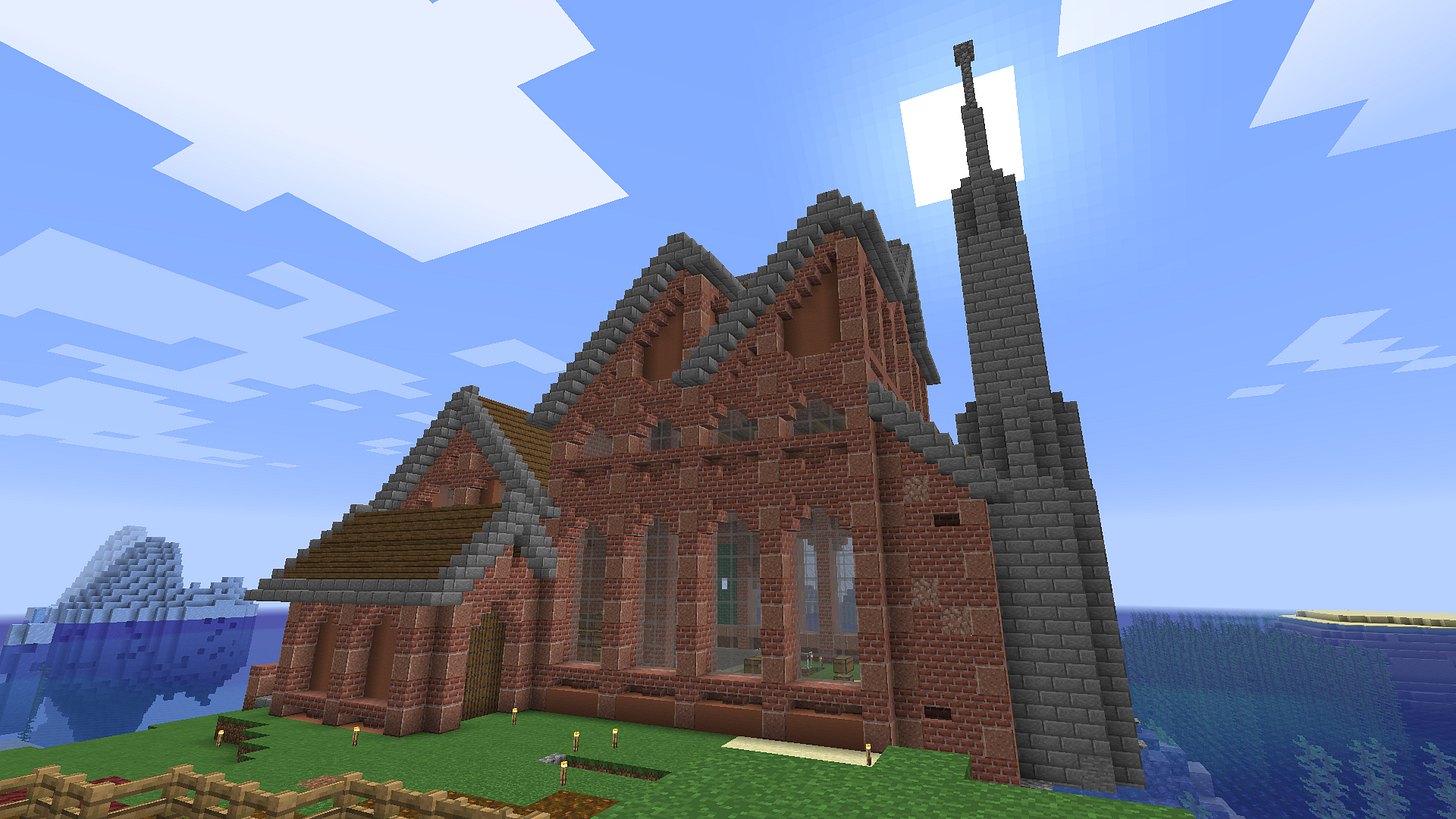 Build this factory in survival :) : Minecraft