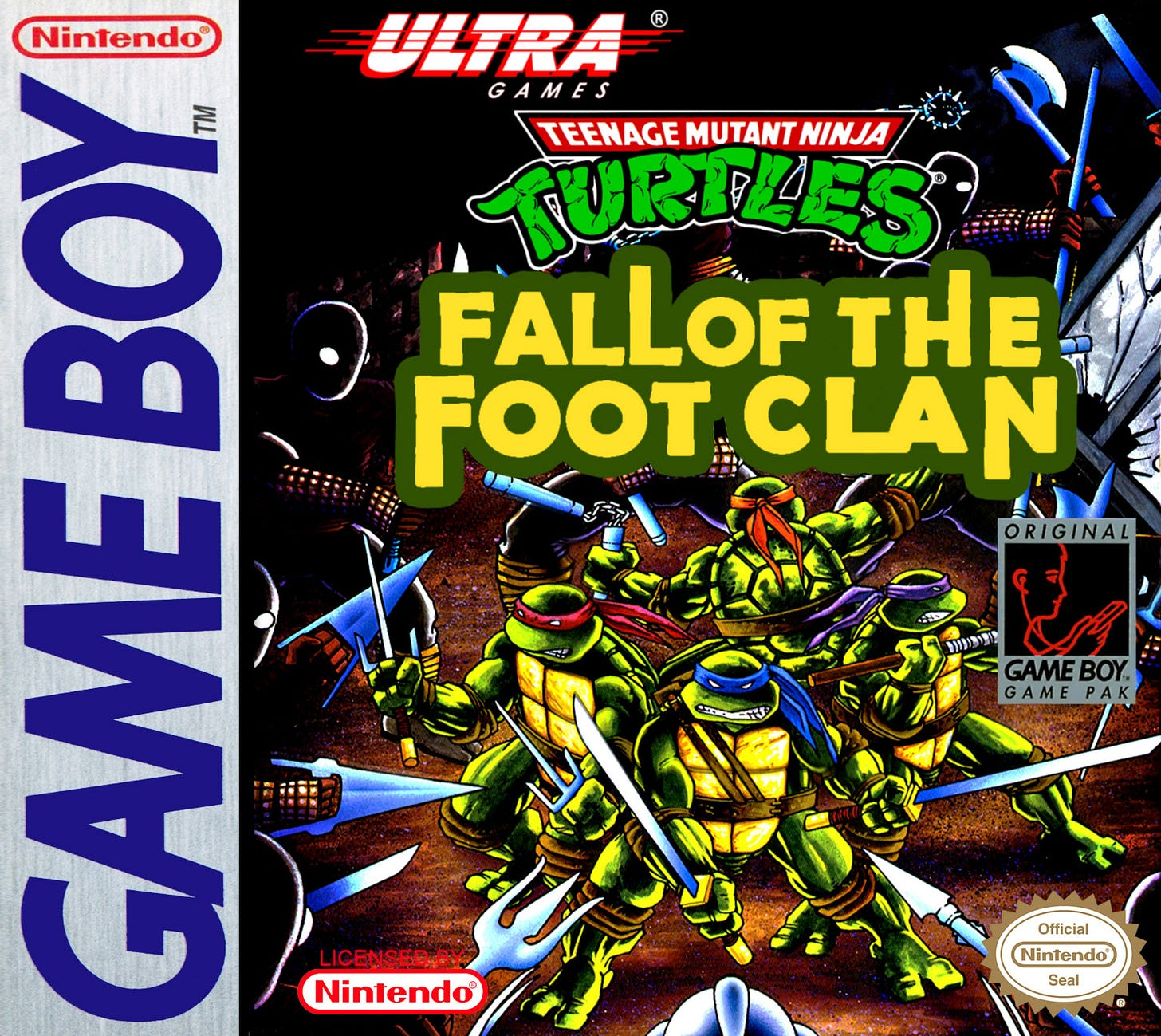 Teenage Mutant Ninja Turtles: Fall of the Foot Clan | TMNTPedia | Fandom