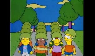 Image result for the simpsons bart the general