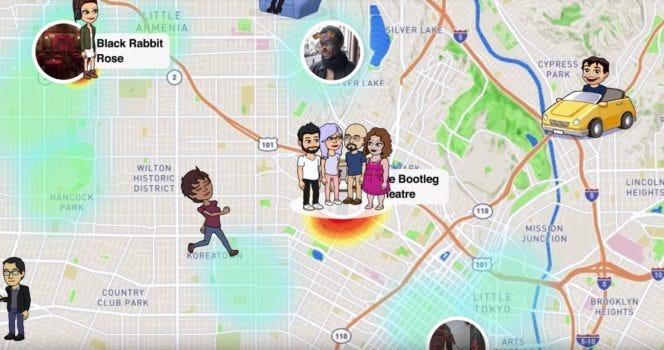 Snapchat : la carte Snap Map, pour accéder aux snaps géolocalisés ...