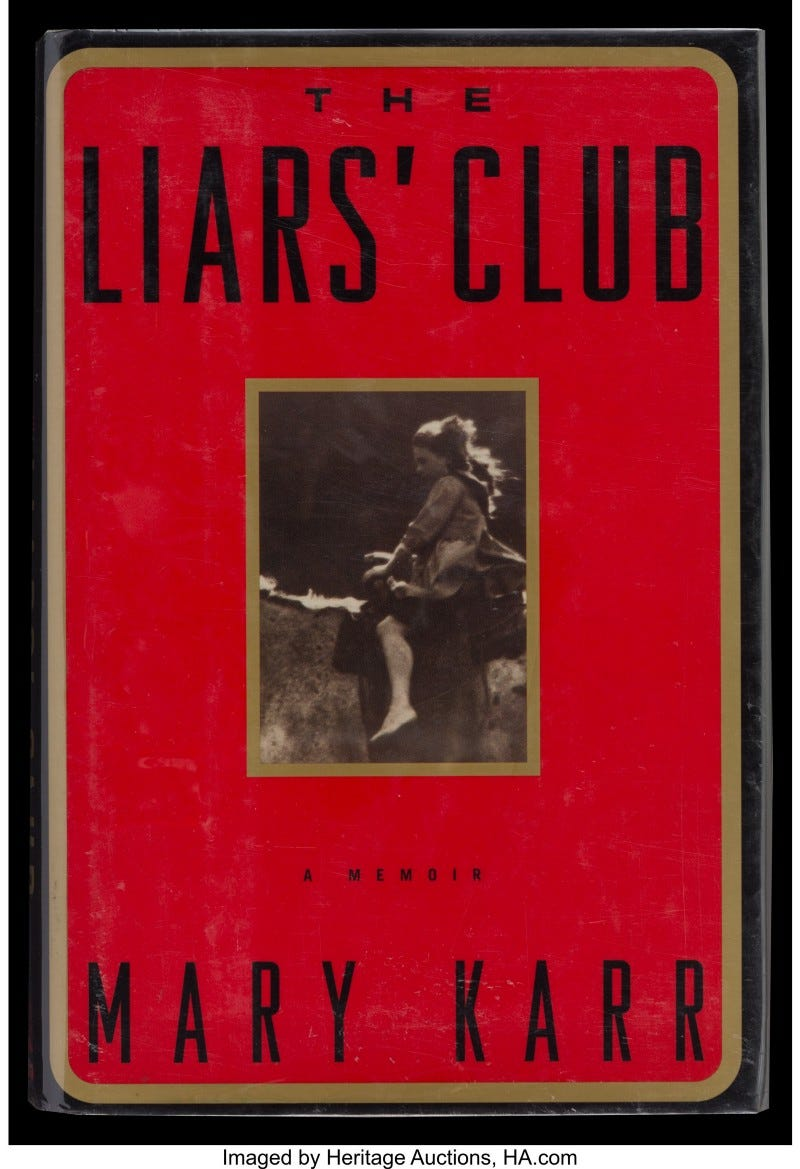 Cover of The Liar's Club by Mary Karr