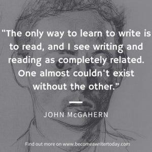 John McGahern on writing