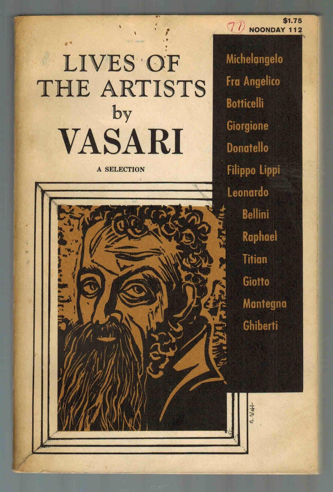 Lives of the Artists: Vasari, Giorgio: Amazon.com: Books