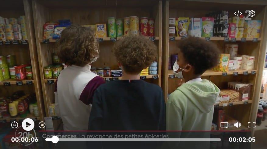 vidéo reportage épiceries de campagne