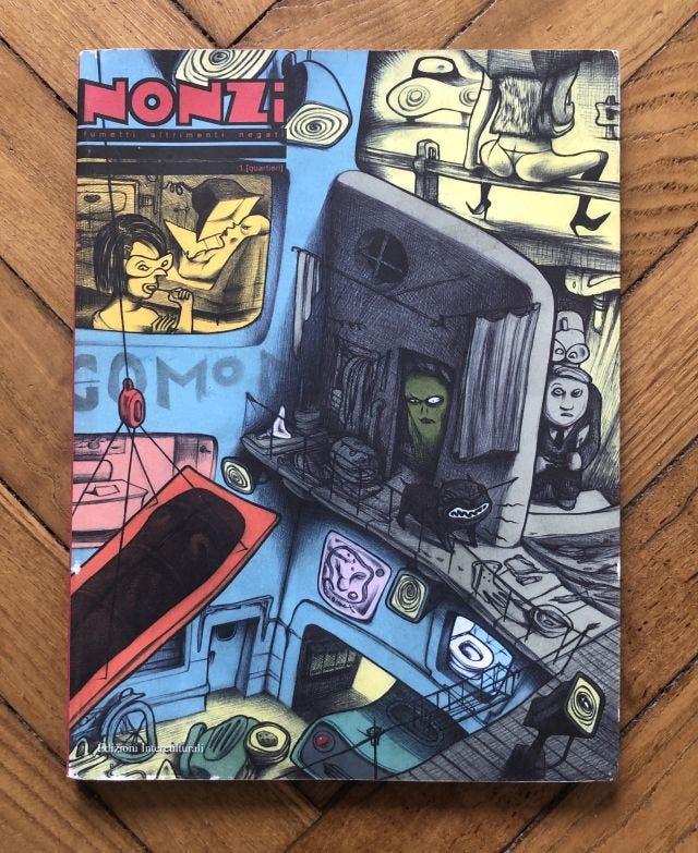 La rivista Nonzi - Fumetti altrimenti negati