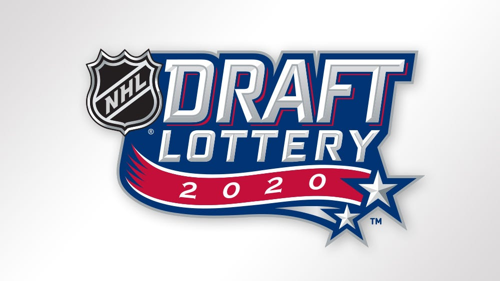 NHL.com Media Site - News - Phase 1 of 2020 NHL Draft Lottery Set for This  Friday, June 26, at 8 p.m. ET