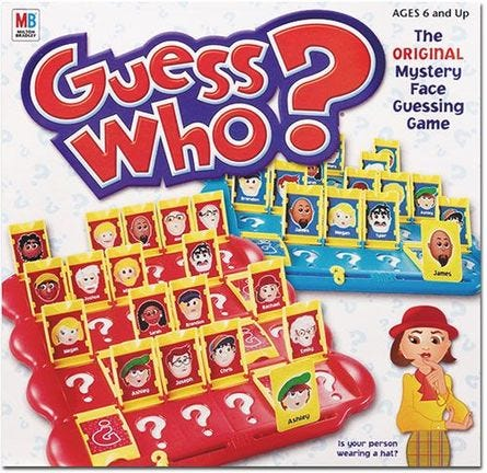 Guess Who?   Board Game   BoardGameGeek