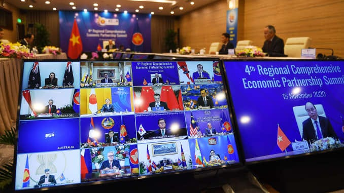 RCEP: 15 Asia Pacific countries including China sign world's largest trade  deal