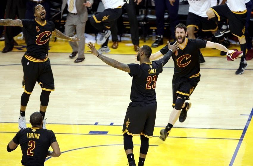 Image result for cleveland cavaliers championship celebration