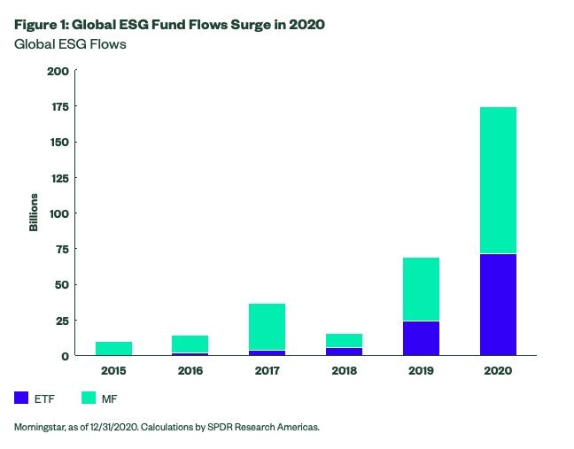 ESG Sustainable Investment Growth