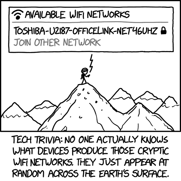 "Tooltip: ""They actually showed up on the first scan by the first WiFi-capable device."""