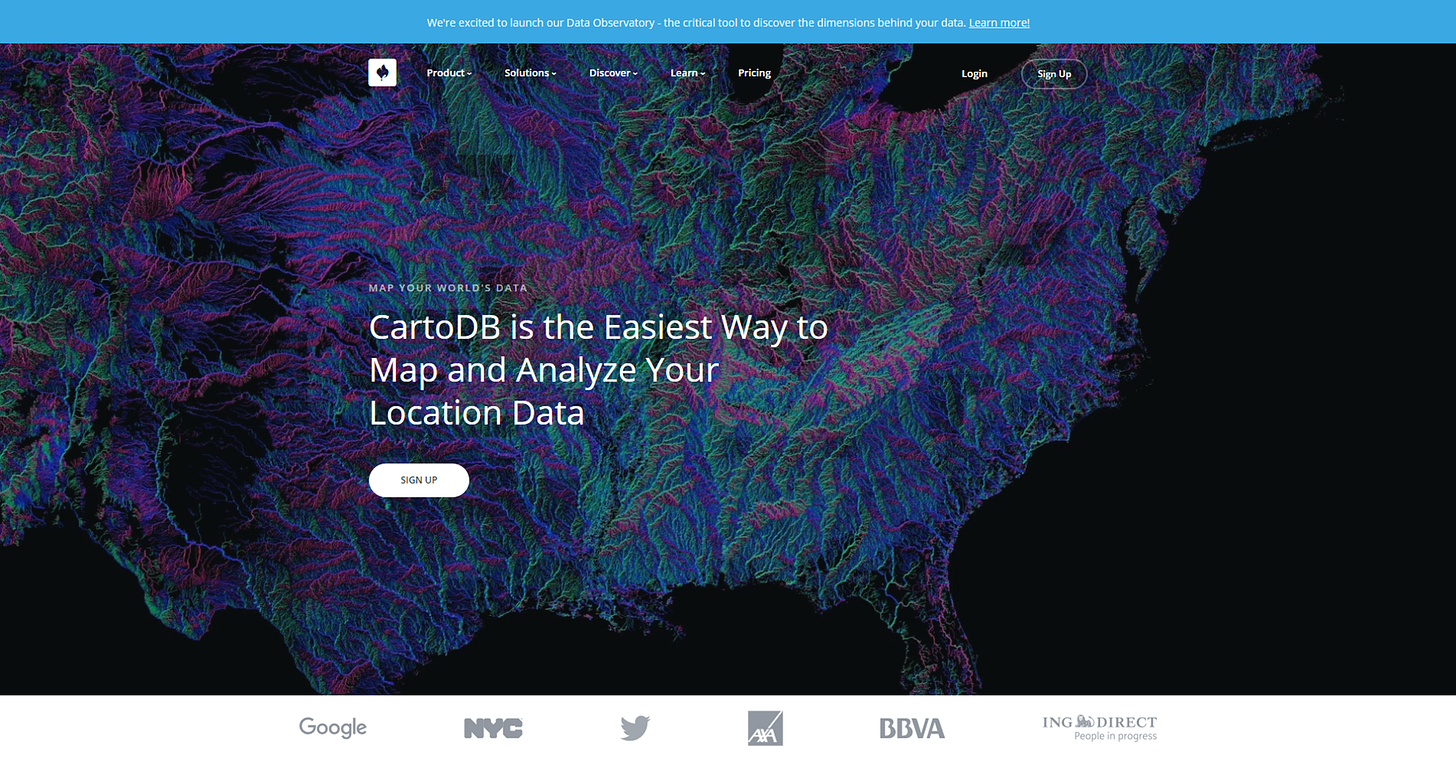 CartoDB is the Easiest Way to Map and Analyze Your Location Data